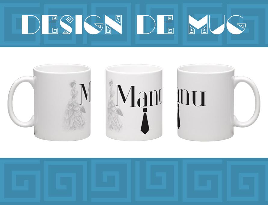 Mug personnalisé - Manu