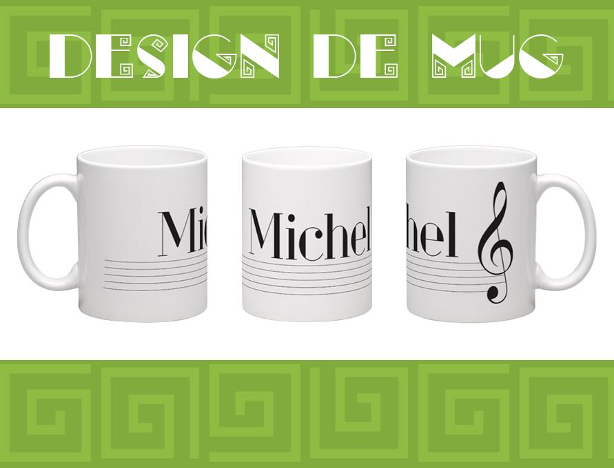 Mug personnalisé - Michel