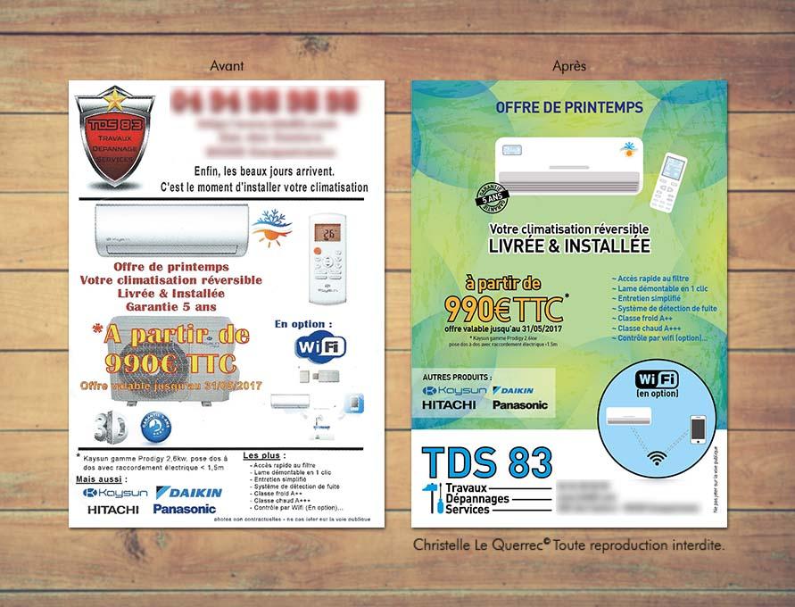 Recréation de flyers et logo _CL