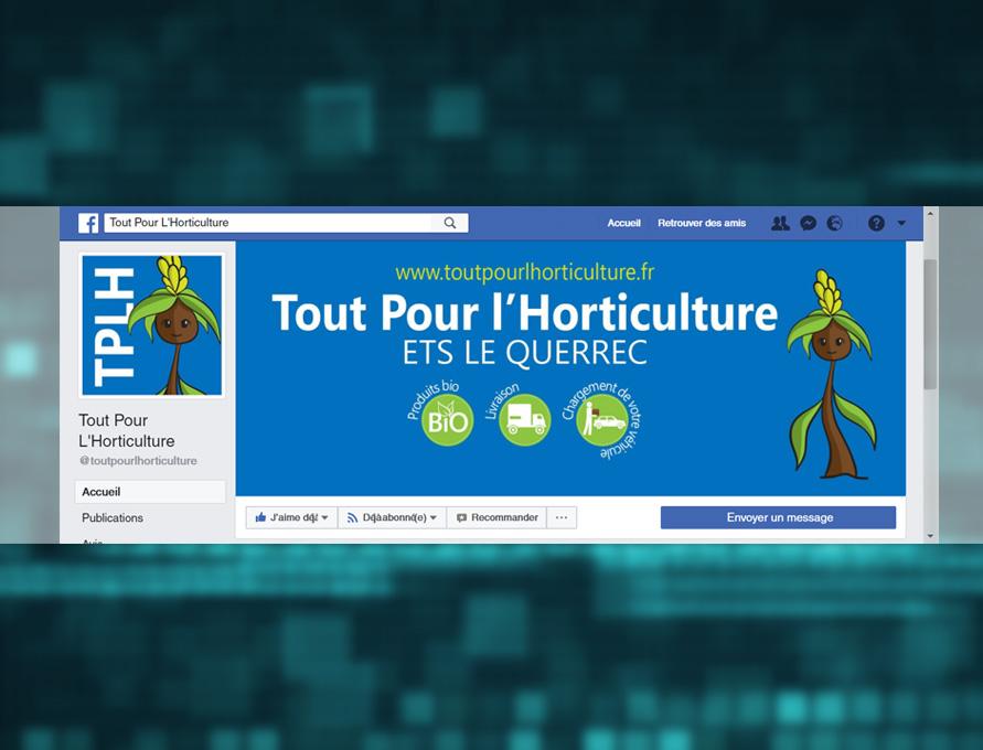 Visuel facebook page Tout Pour l'Horticulture