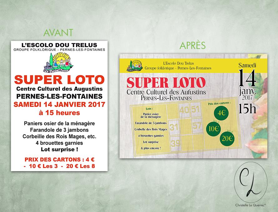 Flyers A5 - Recréation CL - Super Loto