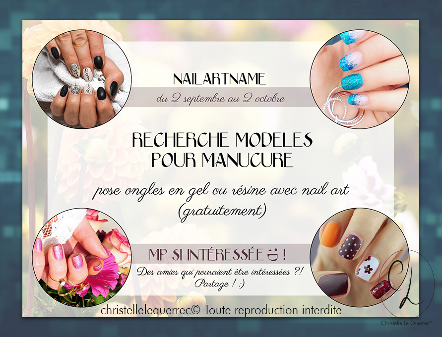 communication web - nail art - Christelle Le Querrec