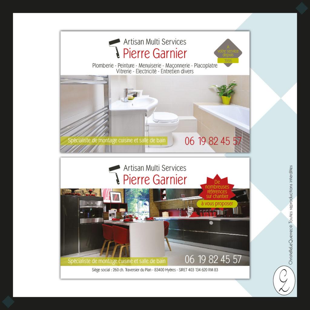 Pierre Garnier Carte de visite_Christelle Le Querrec